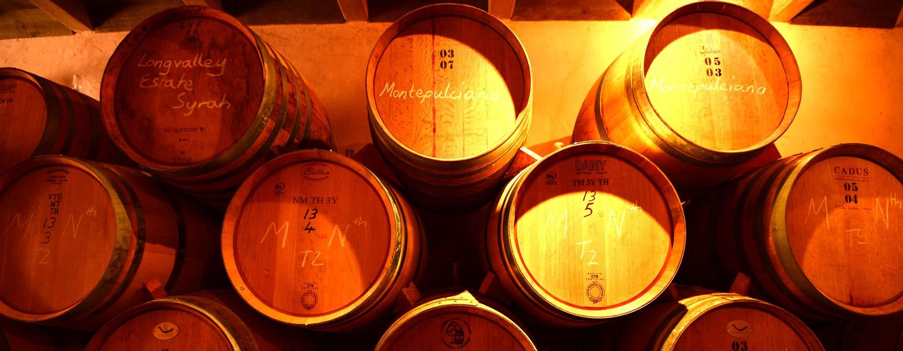 barrels-many
